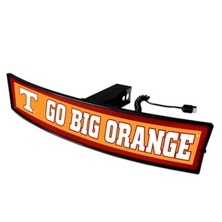 Fanmats Tennessee Go Big Orange Light-up Hitch Cover