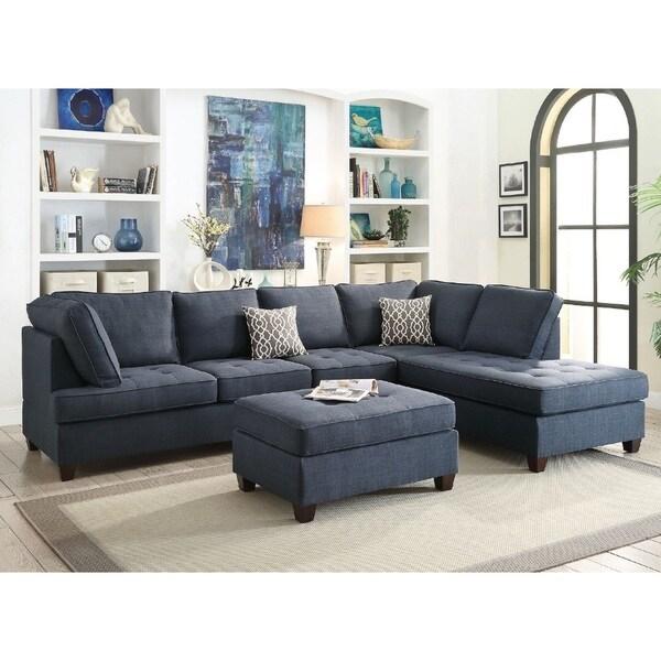 Shop Naschiti 2 Pcs Sectional Sofa Set Free Shipping