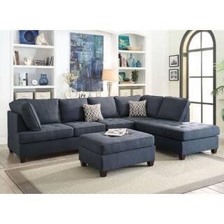 Blue Living Room Furniture Sets For Less | Overstock.com