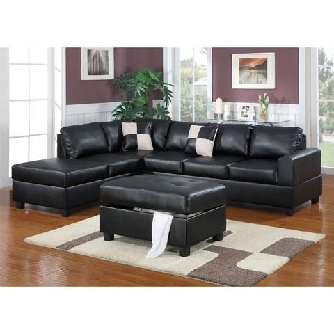 Shonto 3-PCs Sectional Sofa Set