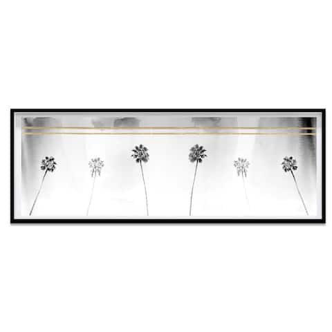 Oliver Gal 'Tropical View' Framed Art