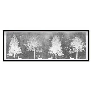 Oliver Gal 'Exploring Gray' Framed Art
