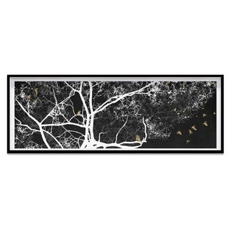 Oliver Gal 'Branching to the Future Reverse' Framed Art
