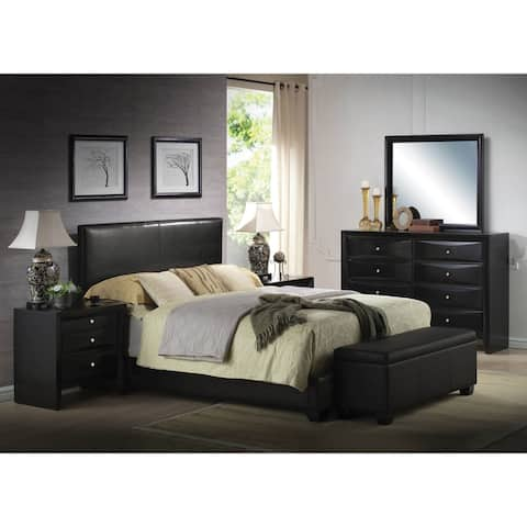 Acme Furniture Ireland Black 4-Piece Bedroom Set