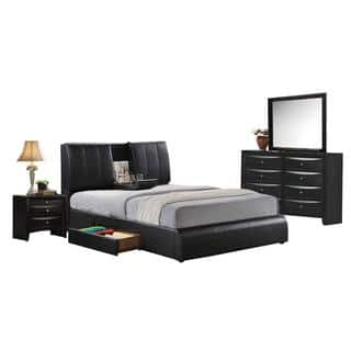 black and white bedroom furniture. acme furniture kofi black 4piece bedroom sethttpsak1 and white c