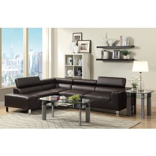 Angle 2-piece Sectional Sofa Set
