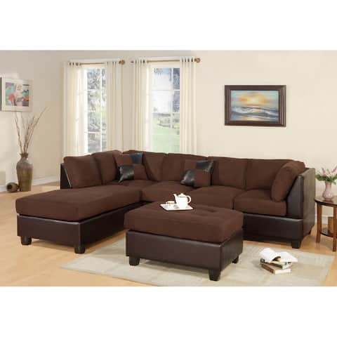 3-piece Sectional Sofa Set