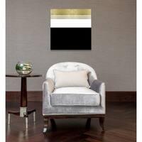 Oliver Gal 'Color Block Stripes' Canvas Art