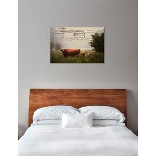 Oliver Gal 'Steady Grass' Canvas Art