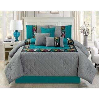 Azteca 7-piece Quilted Comforter Set