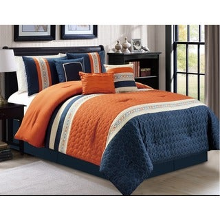 Mallory 7-piece Quilted Comforter Set