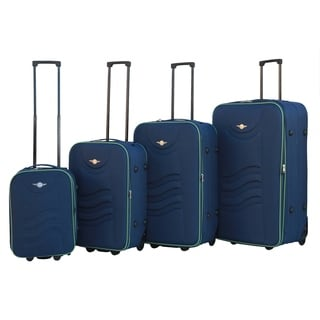 RivoLite Lightweight 4-piece Expandable Rolling Luggage Set