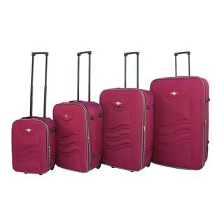 RivoLite Lightweight 4-piece Expandable Rolling Luggage Set