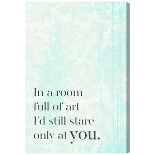 Oliver Gal 'Only At You' Canvas Art