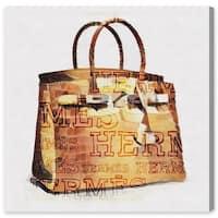 Oliver Gal 'The Iconic Handbag' Canvas Art