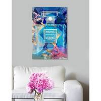Oliver Gal 'Circe Perfume' Canvas Art - Blue