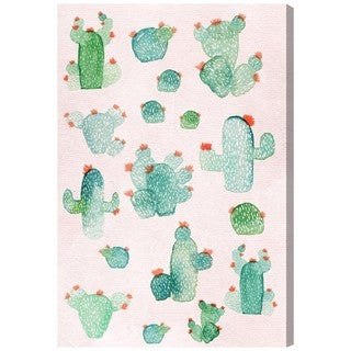 Oliver Gal 'Prickly Pears' Canvas Art