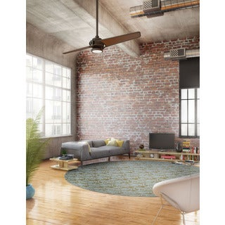 Kichler Lighting Xety Collection 56-inch Olde Bronze LED Ceiling Fan