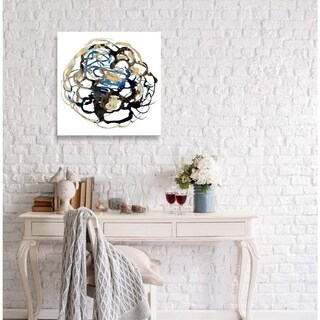 Oliver Gal 'Camellia Dore' Canvas Art