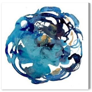 Oliver Gal 'Camellia Azul' Canvas Art