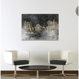 Oliver Gal 'Unwind' Canvas Art