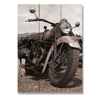 Classic Ride 11x15 Indoor/Outdoor Full Color Cedar Wall Art