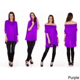 Dinamit Women's 3-Way Top Sweater