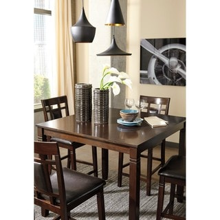 Bennox Brown 5-Piece Counter Table Set