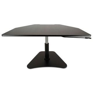 Victor High Rise Collection Adjustable Stand-Up Desk Converter (Black)