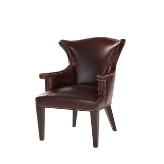 Costa Brown Leather Dining Chair