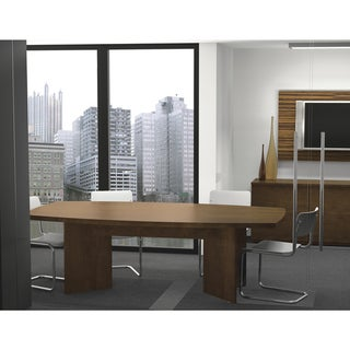 Shop Bestar BoatShaped Conference Table With Top Surface - T shaped conference table