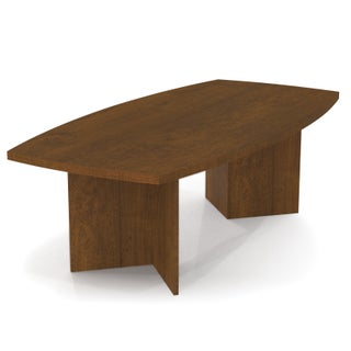 """Bestar Boat-Shaped Conference Table with 1 3/4"""" Top Surface (More options available)"""