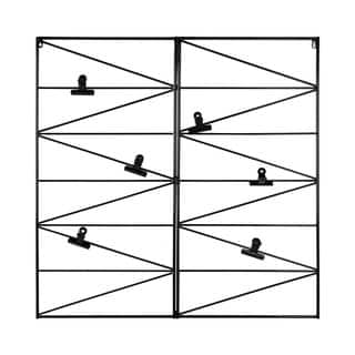 Whitt Wire and Clips Metal Geometric Wall Organizer (Option: Pink)|https://ak1.ostkcdn.com/images/products/14253612/P20842022.jpg?impolicy=medium