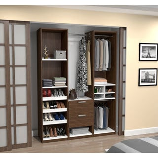 Cielo by Bestar Deluxe 59-inch Reach-In Closet