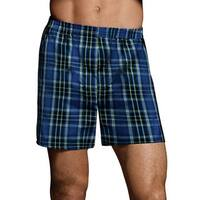 Hanes Men's Woven Boxers (Pack of 5)