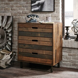 INK+IVY Renu Light Brown Multi Dresser