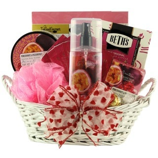 Pomegranate Passionfruit Spa Retreat: Valentine's Day Gift Basket