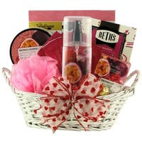 Pomegranate Passionfruit Spa Retreat: Valentine's Day Gift Basket