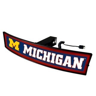 Fanmats Michigan Light-up Hitch Cover