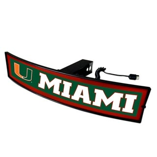 Fanmats Miami Light-up Hitch Cover