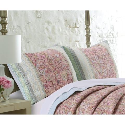 Barefoot Bungalow Palisades Pastel Pillow Shams (Set of 2)