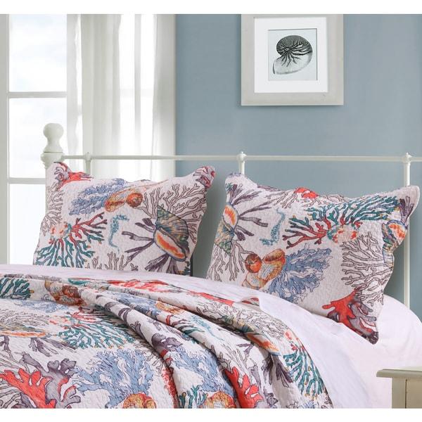 Barefoot Bungalow Atlantis Pillow Shams (Set of 2)