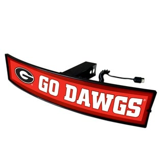 Fanmats Georgia Go Dawgs Acrylic Light-up Hitch Cover