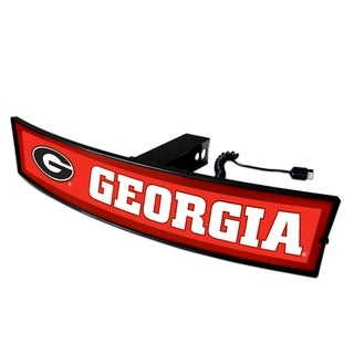 Fanmats Georgia Light Up Hitch Cover