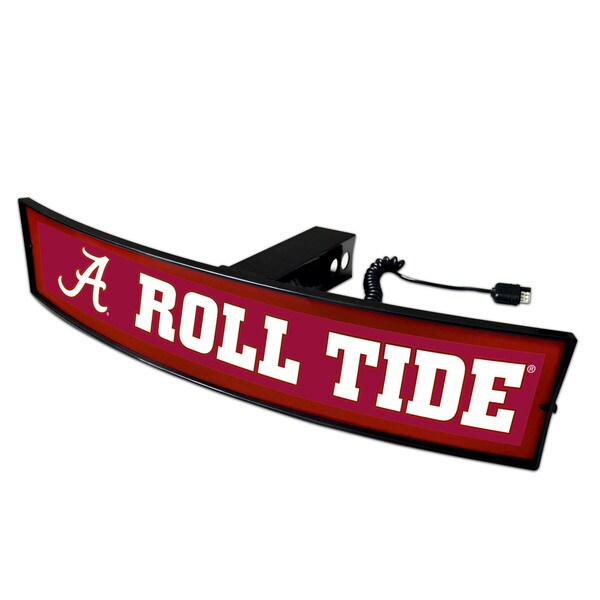 Fanmats Alabama 'Roll Tide' 2-inch Light-up Hitch Cover
