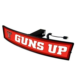 Fanmats Texas Tech Guns Up Light-up Hitch Cover