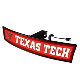 Fanmats Texas Tech Light-up Hitch Cover