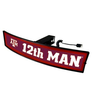 Fanmats Texas A and M '12th Man' Light-up Hitch Cover