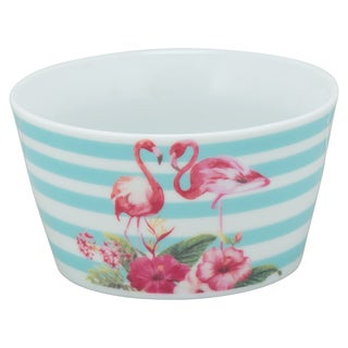 10 Strawberry Street Flamingo Blue Goodies Bowl (Set of 4)