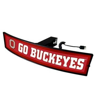 Fanmats Ohio State Go Buckeyes Light-up Hitch Cover